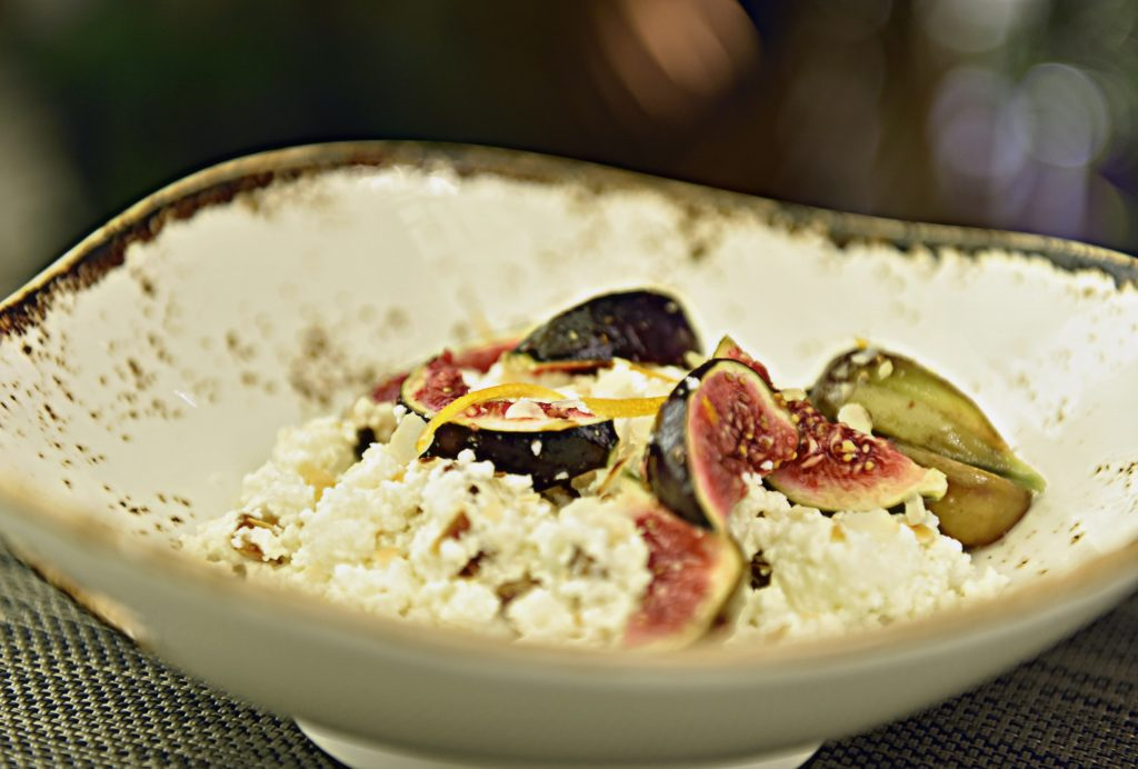 Ricotta with Figs