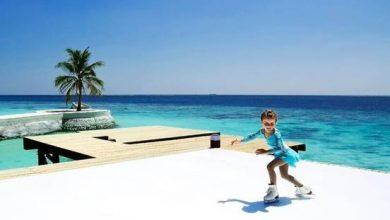 Photo of حلبة التزلج على الجليد الأولى من نوعها تفتتح أبوابها في جزر المالديف