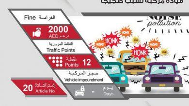 Photo of ما هي عقوبة قيادة سيارة تسبب ضجيجاً في الإمارات؟