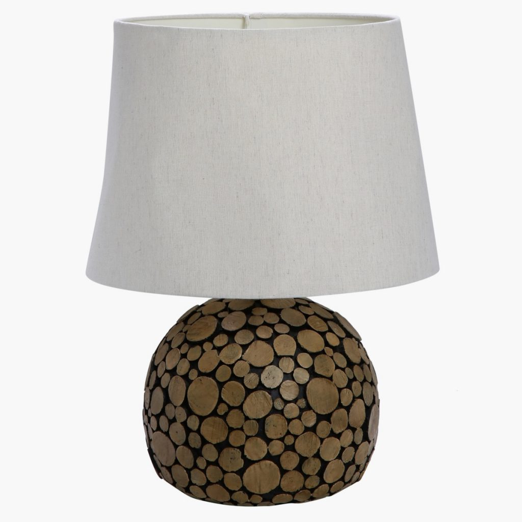Home Centre – Alya Resin Table lamp – Brown[3]