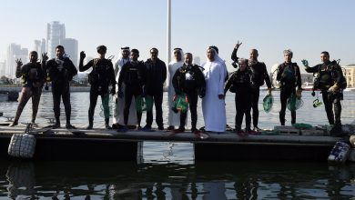 حملة الشارقة لتنظيف البيئة البحرية