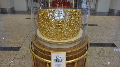 Photo of الشارقة تعرض أكبر خاتم ذهبي في العالم