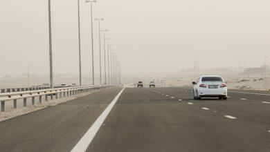 صورة أخطر 4 شوارع في أبوظبي خلال أجواء الضباب