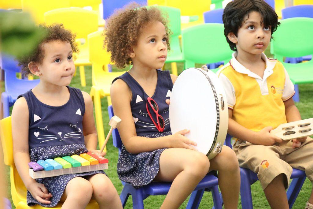 Children at City Centre Me'aisem