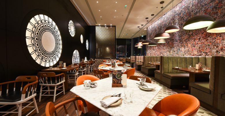 المطعم الهندي الشهير زافران