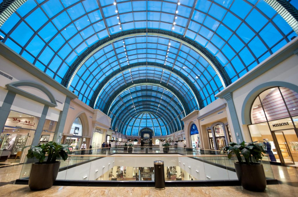 Mall of the Emirates – Central Galleria night