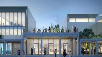 صورة افتتاح مركز جميل للفنون في دبي