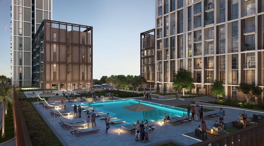 مجمع كولكتيف للعيش المشترك في دبي هيلز استيت