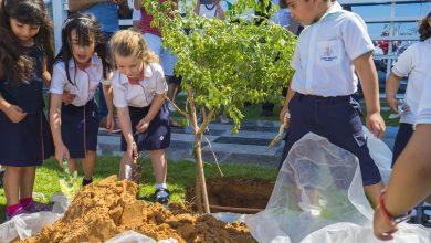 Photo of احتفال زراعة شجرة الغاف في دبي هايتس أكاديمي