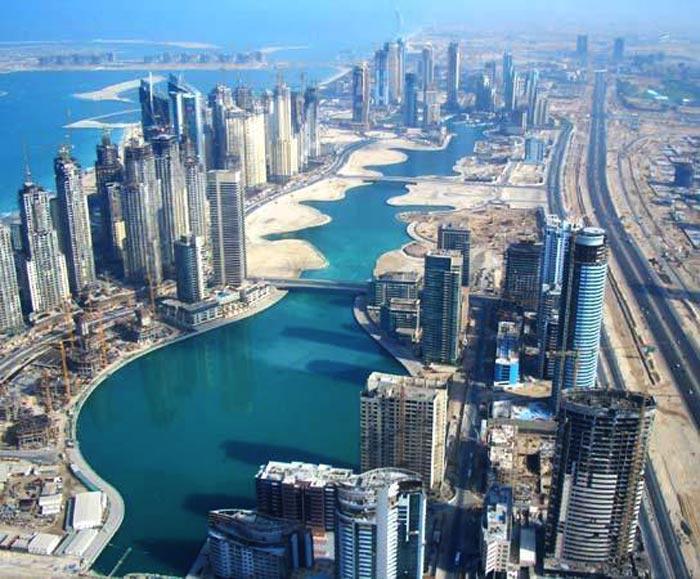 مارينا دبي من الأماكن الفضلة لخلود