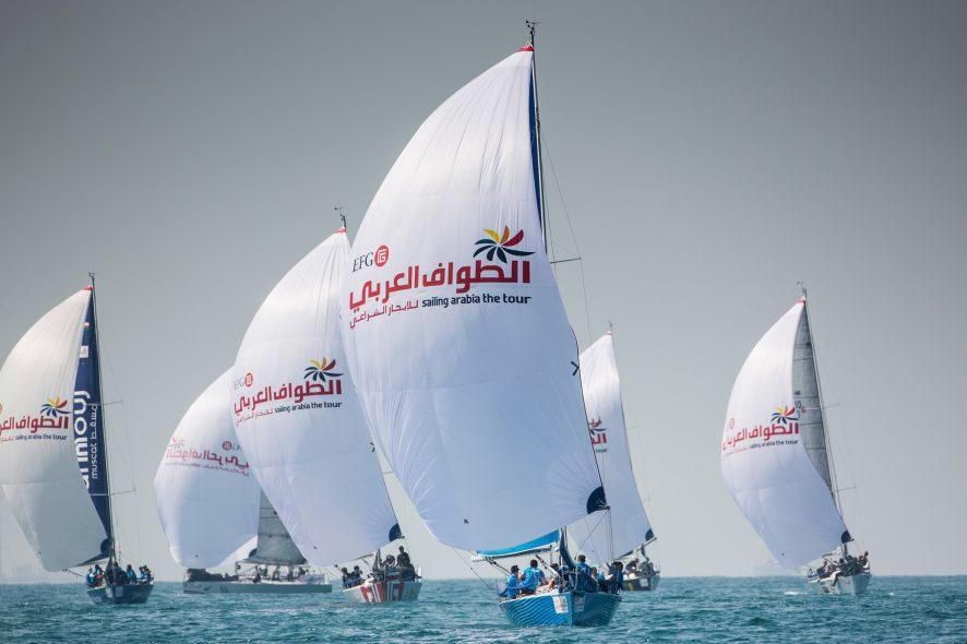 سباق الإبحار من دبي إلى مسقط