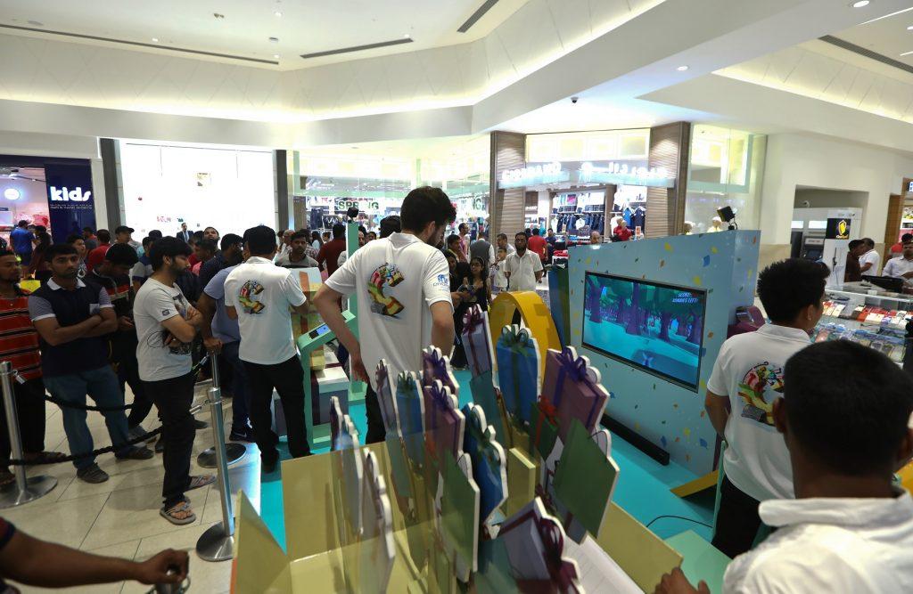 ألعاب تفاعلية والعديد من الجوائز في سيتي سنتر الشارقة