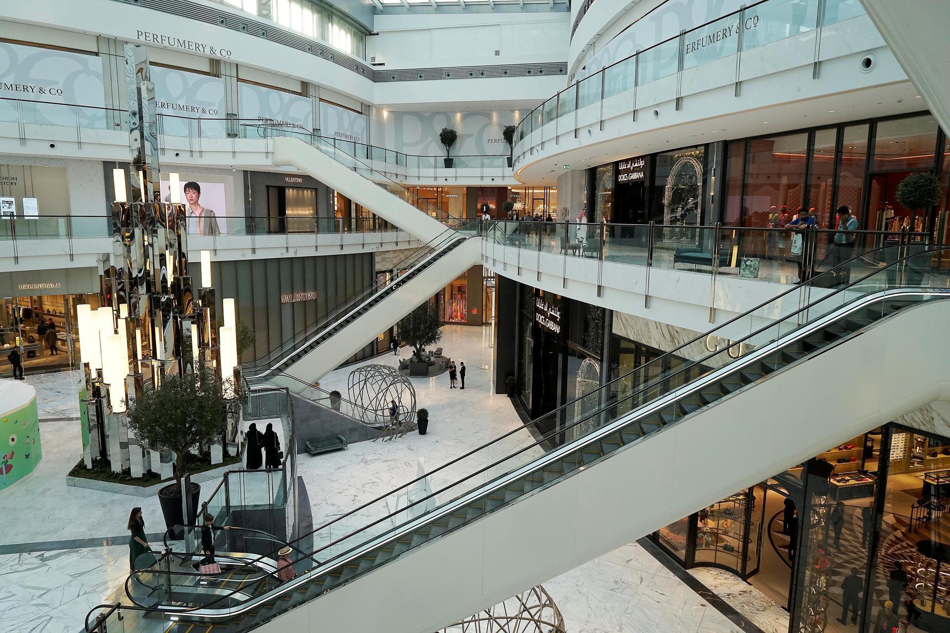 دبي مول بعد التوسعة الجديدة