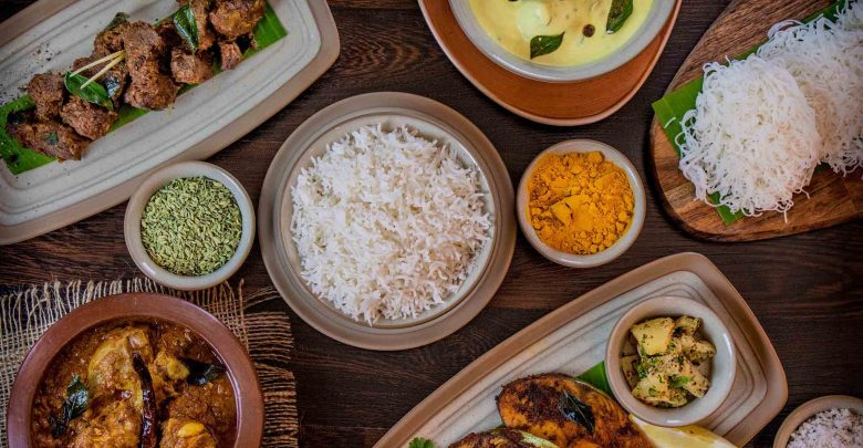 مطعم زافران يقدم مأكولات جنوب الهند