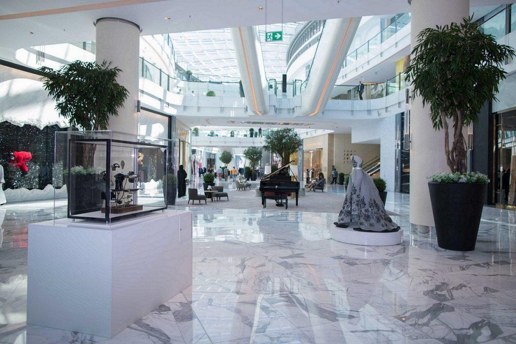 منطقة الأزياء في دبي مول