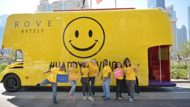Photo of حافلة السعادة من فنادق روڤ بمناسبة يوم السعادة العالمي