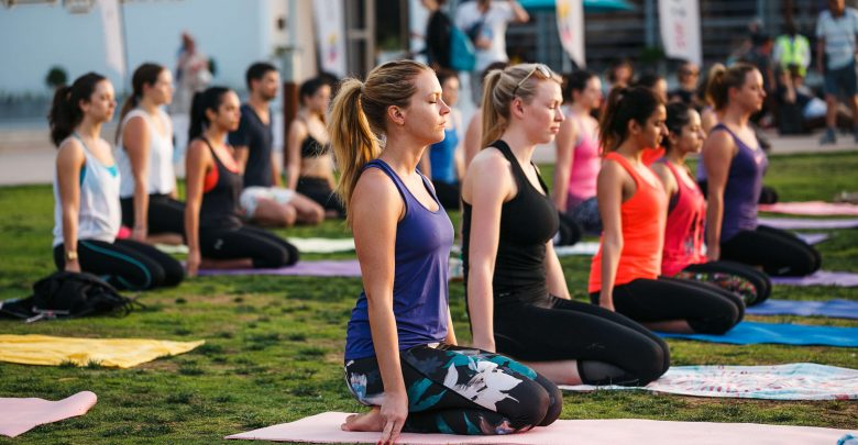 برنامج Get Fit Wellness المجاني للياقة البدنية في ذا بيتش