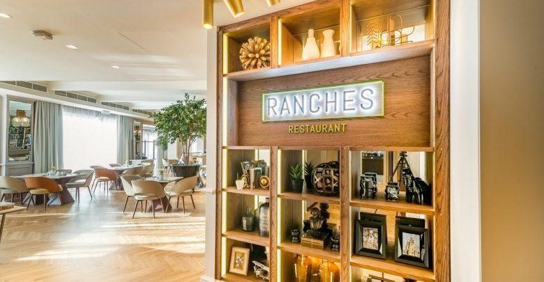 مطعم رانشز في نادي المرابع العربية للجولف