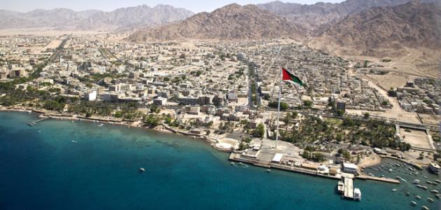 مدينة العقبة الأردنية