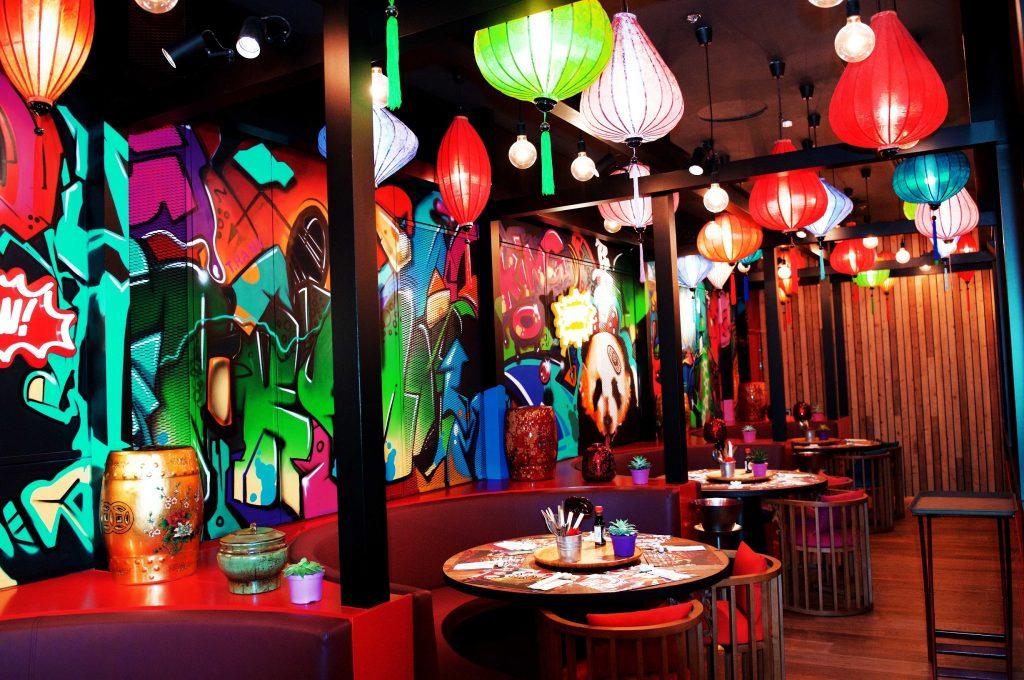 مطعم باو واو في سيتي ووك