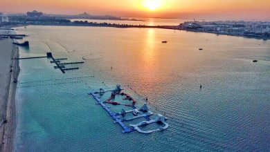 صورة افتتاح حديقة أكوا فان للألعاب المائية