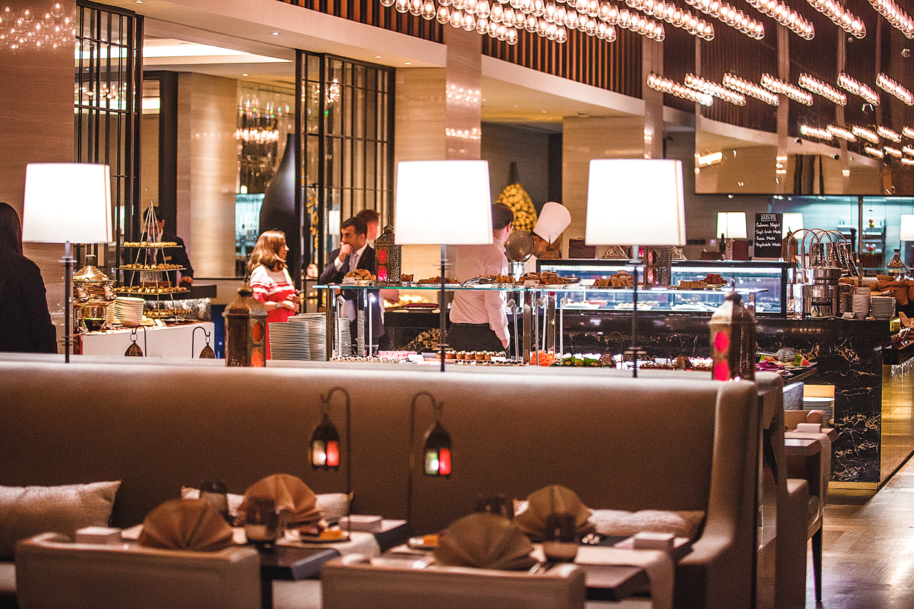 عروض المأكولات والإقامة خلال رمضان في فندق شتيجنبرجر