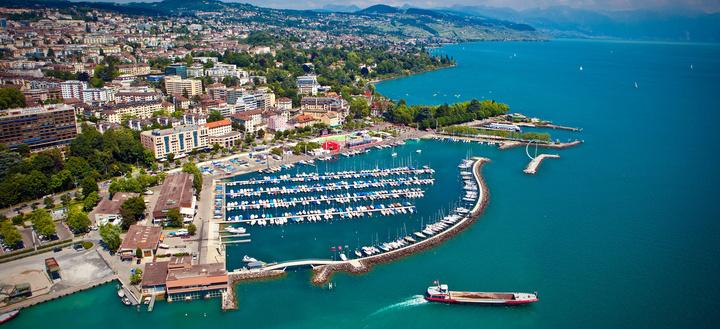 السياحة في مدينة لوزان السويسرية