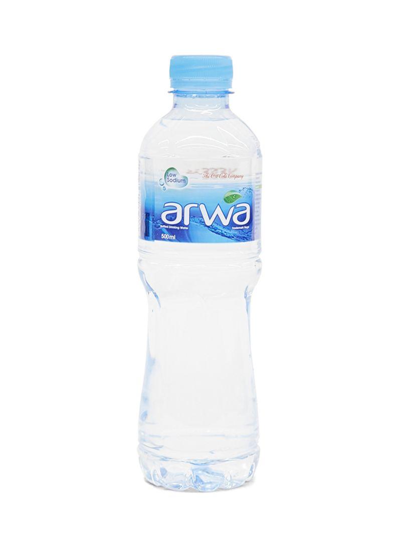 زجاجة مياه سعة 500 مل