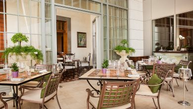 تشكيلة واسعة من أطباق البيستو في مطعم فيلا توسكانا