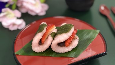 Photo of باقة الأطباق اليابانية التقليدية في مطعم كوهانتي