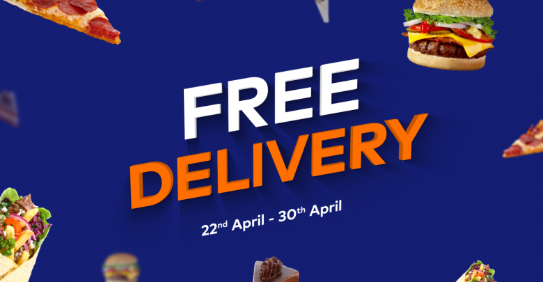 أسبوع توصيل الطعام المجاني من طلبات