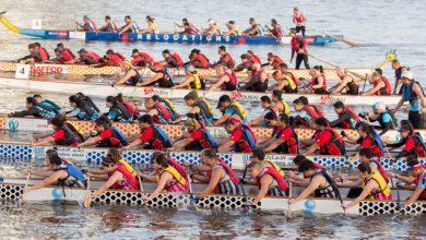 صورة مهرجان قوارب التنين السنوي في رأس الخيمة