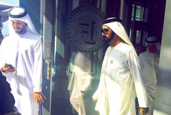 الشيخ محمد في مقهى فرزي