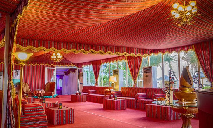 الخيمة الرمضانية في فندق عجمان