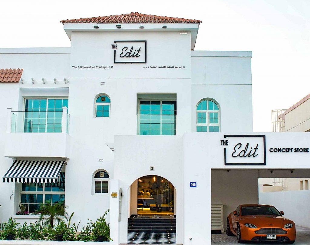 افتتاح متجر ذي إديت في دبي