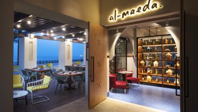 صورة افتتاح مطعم المائدة في منتجع وسبا هيلتون رأس الخيمة