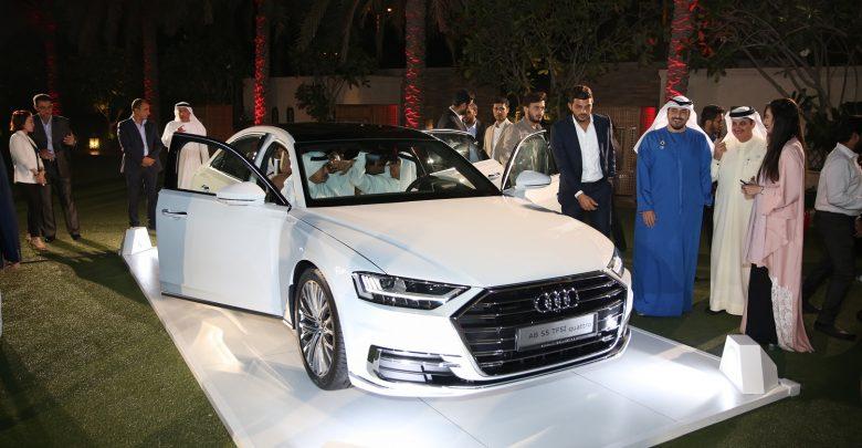 سيارة Audi A8 الجديدة في صالات النابوده