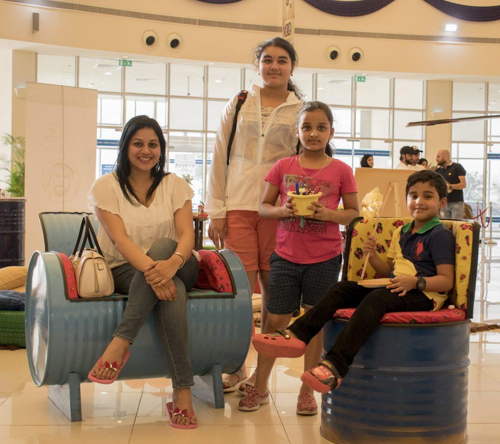 معرض للحفاظ على البيئة في دبي أوتليت مول