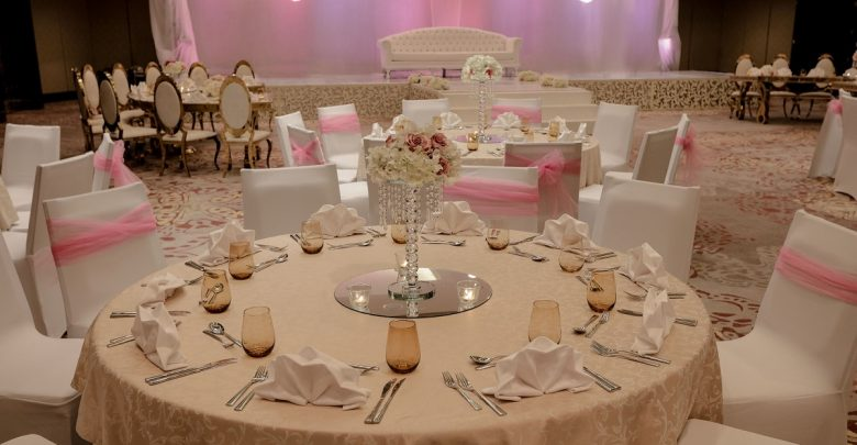 باقات الزفاف من فندق ماريوت داون تاون أبوظبي