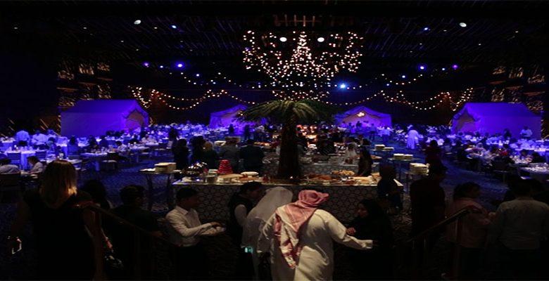 كواليس الإفطار الرمضاني في دبي أوبرا