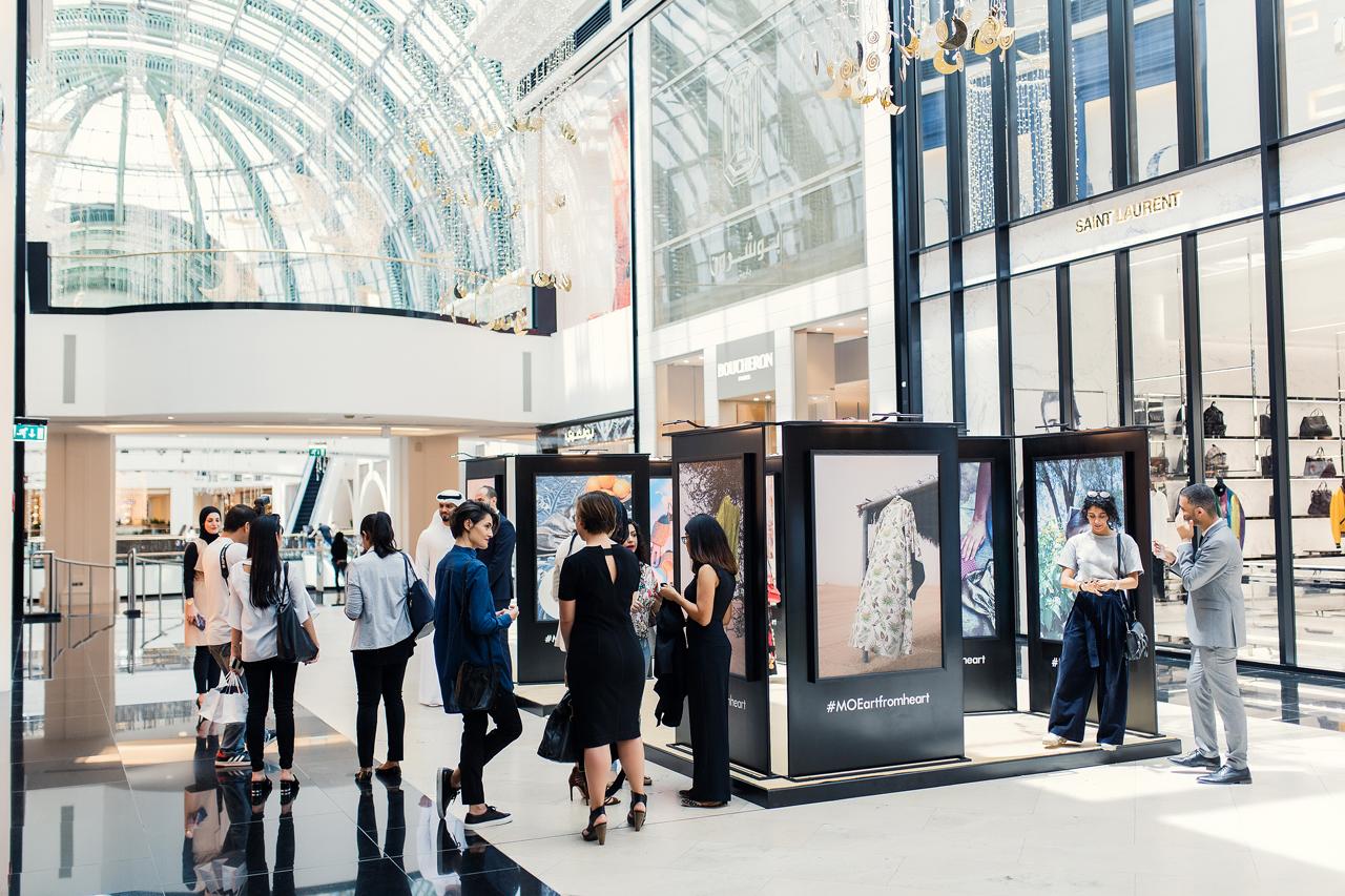 معرض التصوير الفوتوغرافي فن من القلب في مول الإمارات