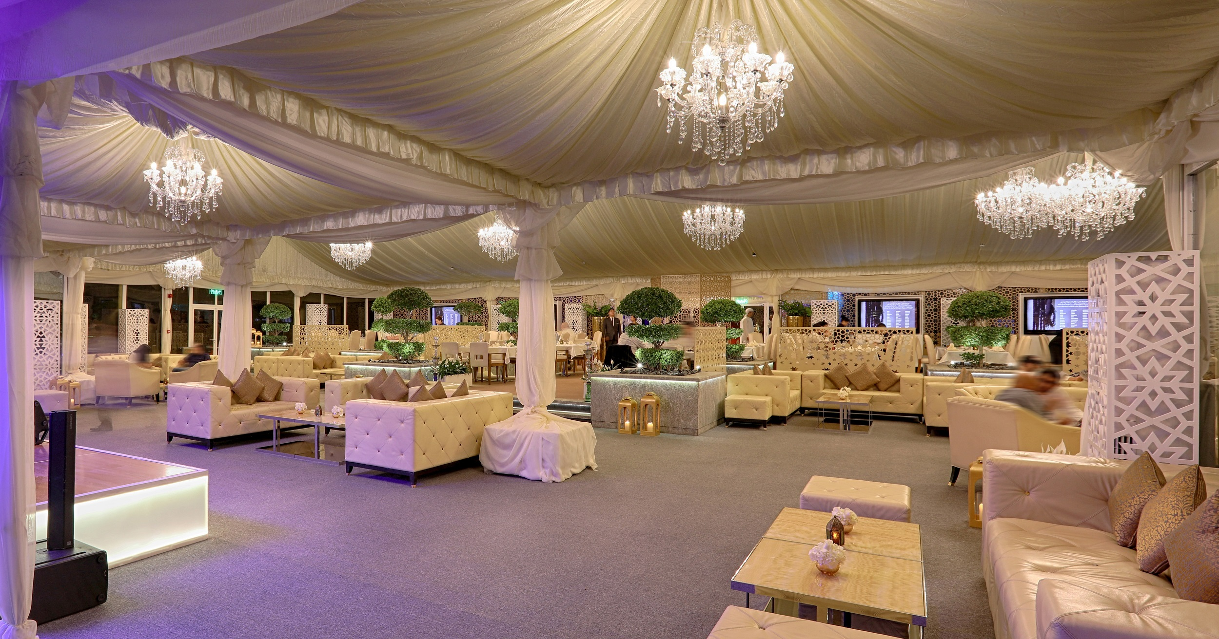 خيمة فندق الميدان الرمضانية