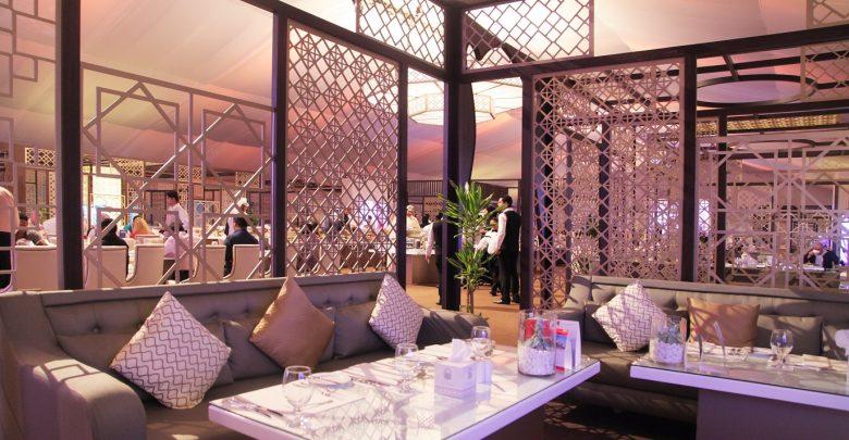 خيمة سرايا الرمضانية في أفينيو البوابة