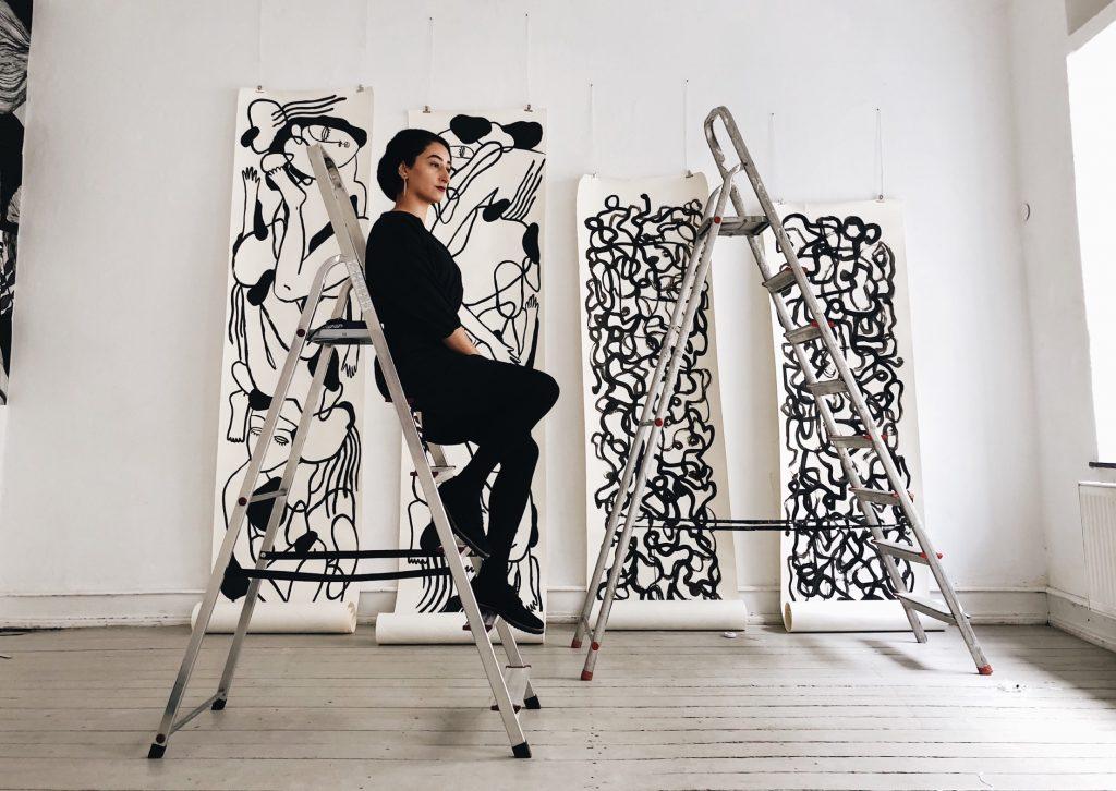 الأعمال الفنية للفنانة تسنيم بغدادي
