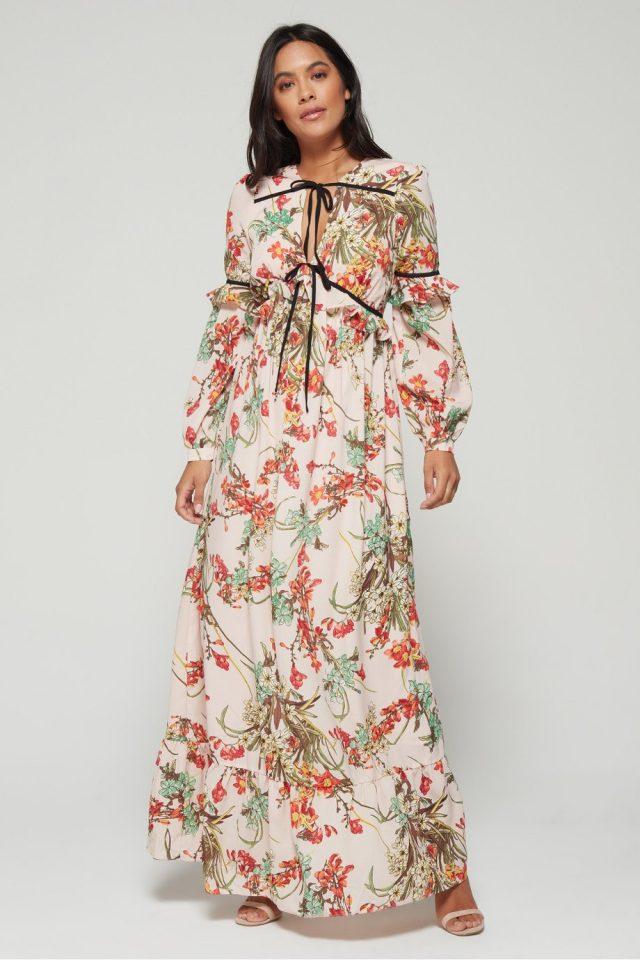 فستان Tropical Elegance