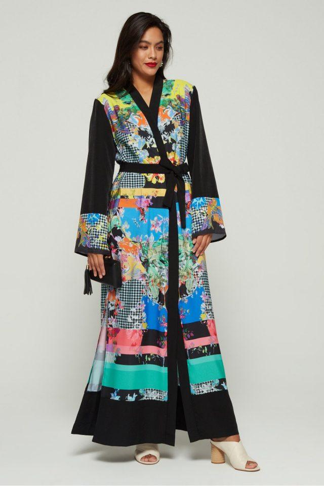 فستان Colourful Class