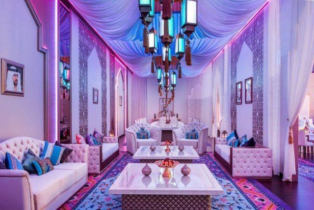 صالة الفانوس في جي دبليو ماريوت ماركيز دبي