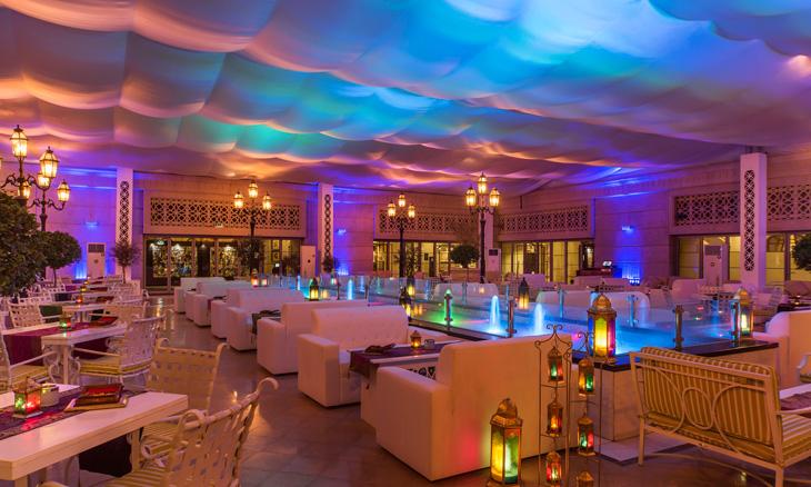 خيمة فندق سانت ريجيس دبي