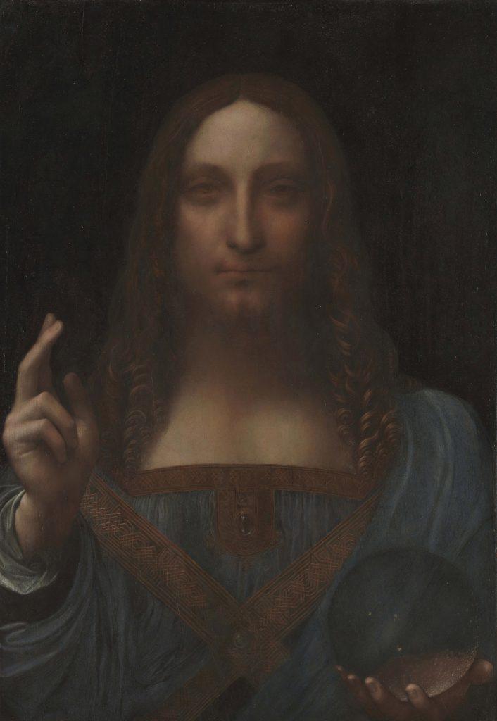 لوحة سلفاتور مُندي في متحف اللوفر أبوظبي