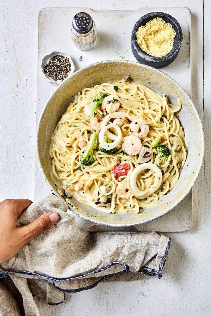 الأطباق الإيطالية خلال شهر رمضان في مطعم فنليز